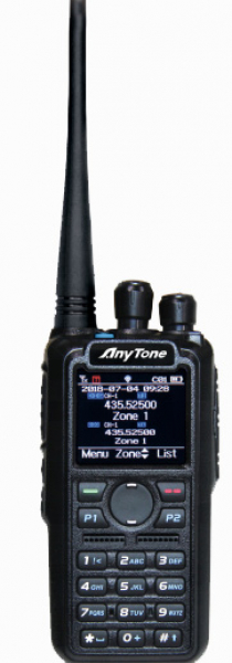Anytone AT-D878UV GPS - Bluetooth V2.2